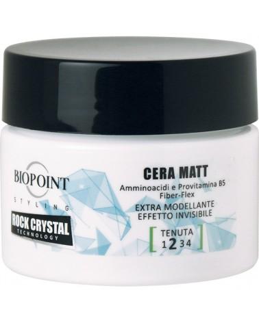 Biopoint Styling Rock Crystal Technology Cera Matt 100 ml