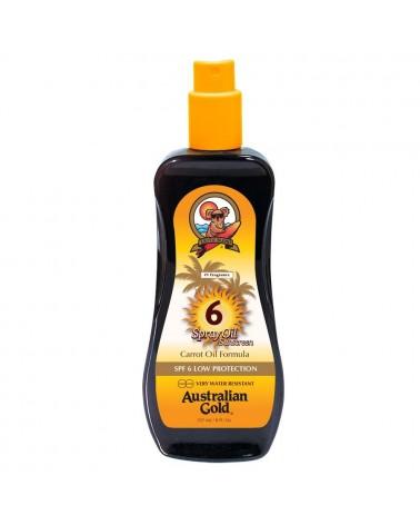 Australian Gold Spray Oil Carrot Sunscreen SPF6 237ml