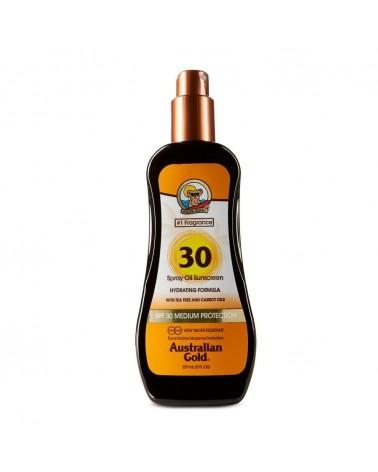 Australian Gold Spray Oil Carrot Sunscreen SPF30 237ml