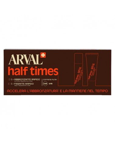 Arval SOLAIRE Half Times 5 fiale x 10ml + 5 tubi x 10ml