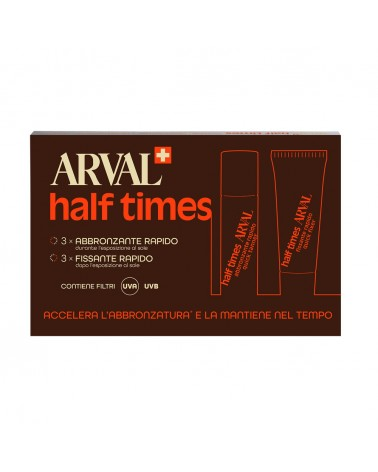 Arval SOLAIRE Half Times 3 fiale x 10ml + 3 tubi x 10ml