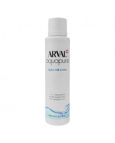 Arval AQUAPURE Hydra Milk & Tonic Latte Detergente 2 in 1 200ml