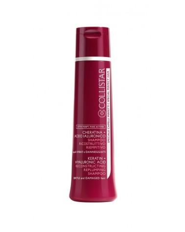 Collistar ATTIVI PURI Shampoo Ricostruttivo Riempitivo 250ml