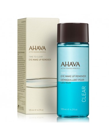 Ahava TIME TO CLEAR Eye Makeup Remover 125ml