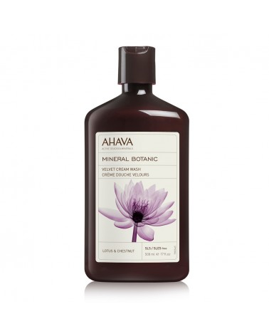 Ahava MINERAL BOTANIC Velvet Cream Wash Lotus 500ml