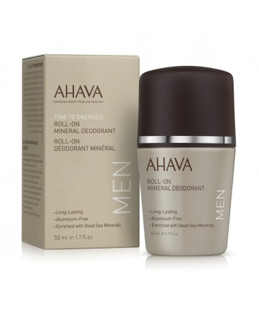 Ahava TIME TO ENERGIZE Mineral Deodorant Men Roll On 50ml