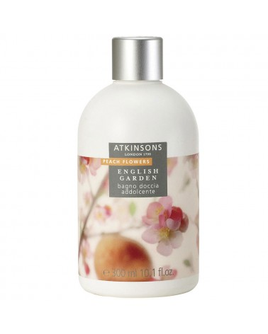 Atkinson Peach Flowers Bagno Doccia Addolcente 300ml
