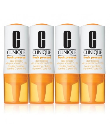 Clinique FRESH PRESSED Daily Booster with Pure Vitamin C 10% 4 x 8,5ml