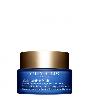 Clarins MULTI ACTIVE Crème Nuit Peaux Normales à Mixtes 50ml