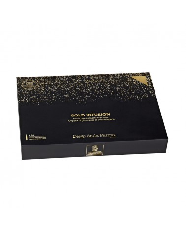 Diego dalla Palma GOLD INFUSION Youth Pro-Collagen Ampoules 14 x 2ml