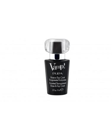 Pupa Vamp! Base & Top Coat Trasparente e Profumazione Nera