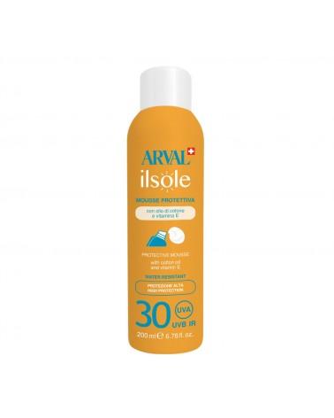 Arval Mousse Protettiva 200 ml SPF 30