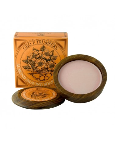Geo.F. Trumper Almond Hard Shaving Soap 80 gr.