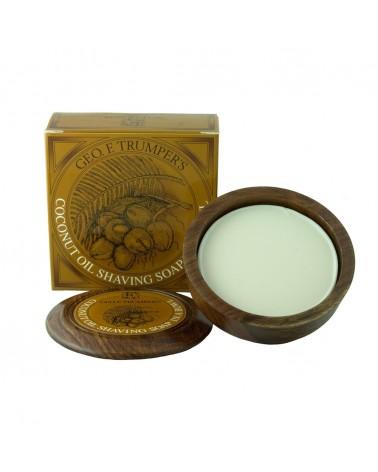 Geo.F. Trumper Coconut Hard Shaving Soap 80 gr.