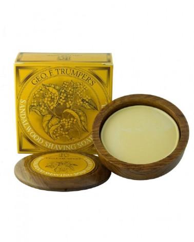 Geo.F. Trumper Sandalwood Hard Shaving Soap 80 gr.