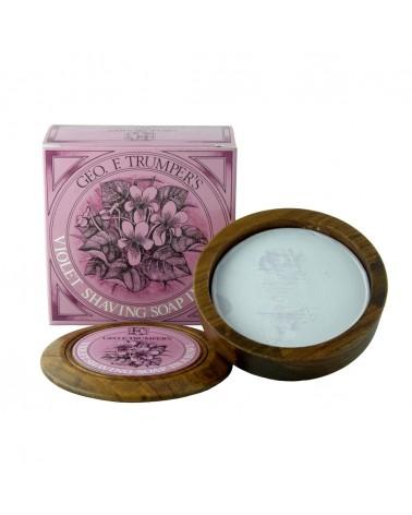 Geo.F. Trumper Violet Hard Shaving Soap 80 gr.