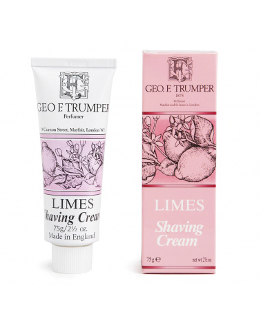 Geo.F. Trumper Limes Soft Shaving Cream 75 ml